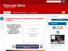 Tablet Preview of blog.parlonsdeco.fr